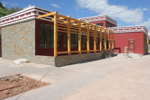 Scuola di Wakha - Cucina e refettorio