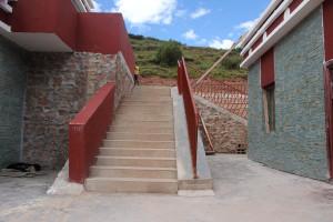 Scuola di Wakha - scala